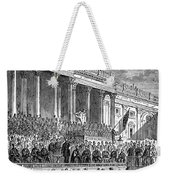 Lincolns Inauguration, 1861 Weekender Tote Bag