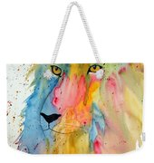 Lion Head 3 Weekender Tote Bag