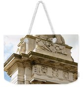 Lion On Pedestal Weekender Tote Bag