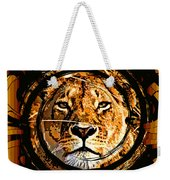 Lioness Face Weekender Tote Bag