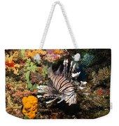 Lionfish, Fiji Weekender Tote Bag