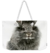 Lionhead Rabbit Weekender Tote Bag