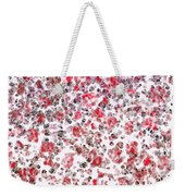 Lipstick And Eyeliner Abstract Weekender Tote Bag