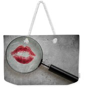 Lipstick Confessions Weekender Tote Bag