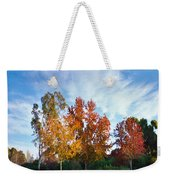 Liquid Amber Trees Weekender Tote Bag