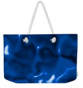 Liquid Blue Abstract Weekender Tote Bag