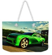 Liquid Green Weekender Tote Bag