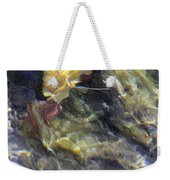 Liquid Leaves 2 Weekender Tote Bag