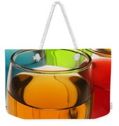 Liquor Glasses Weekender Tote Bag