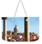 Lisbon View Weekender Tote Bag by Carlos Caetano