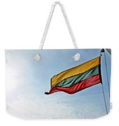 Lithuanian Tricolor Weekender Tote Bag