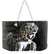 Little Angel Statue Weekender Tote Bag