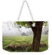 Little Barn Weekender Tote Bag by Debra and Dave Vanderlaan