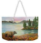 Little Bear Big World Weekender Tote Bag