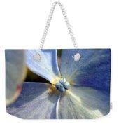 Little Blue Flower Weekender Tote Bag