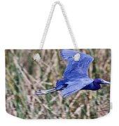 Little Blue Heron In Flight Weekender Tote Bag
