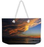 Little Boat Sunset Weekender Tote Bag