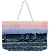 Little Boats Weekender Tote Bag
