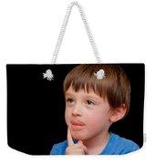 Little Boy Weekender Tote Bag