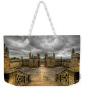 Little Castle Entrance - Bolsover Castle Weekender Tote Bag
