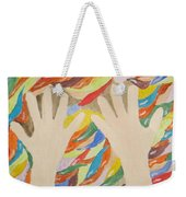 Little Creative  Hands Weekender Tote Bag