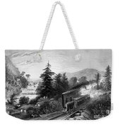 Little Falls: Railroad Weekender Tote Bag