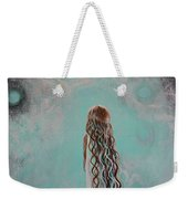 Little Galaxie Three Weekender Tote Bag