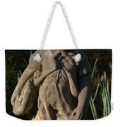 Little Girl Turned To Stone Weekender Tote Bag