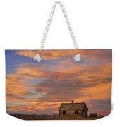 Little House On The Colorado Prairie Weekender Tote Bag