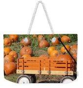 Little Orange Wagon Weekender Tote Bag