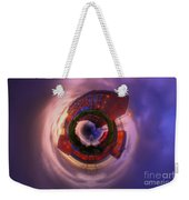 Little Planet - Suburban Sunset Weekender Tote Bag