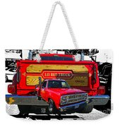 Little Red Express Dbl Hdr Weekender Tote Bag