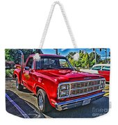 Little Red Express Hdr Weekender Tote Bag