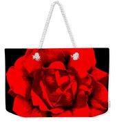 Little Red Flower ... Weekender Tote Bag