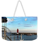 Little Red Lighthouse Weekender Tote Bag