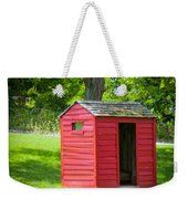 Little Red Three-seater Weekender Tote Bag