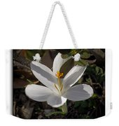 Little White Flower Weekender Tote Bag