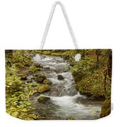 Little Zig Zag Stream Weekender Tote Bag