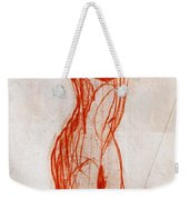 Live Model Study 1 Weekender Tote Bag