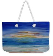 Lively Seascape Weekender Tote Bag