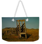 Livestalk Loader In South Dakota Weekender Tote Bag