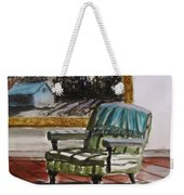 Living Room Moonrise Weekender Tote Bag