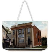 Livingston Manor Ny - National Bank Weekender Tote Bag
