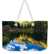 Lizard Lake Reflections Weekender Tote Bag