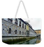 Ljubljana Reflections Weekender Tote Bag
