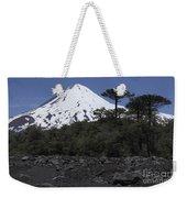 Llaima Volcano, Araucania Region, Chile Weekender Tote Bag