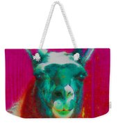 Llama Of A Different Color Weekender Tote Bag