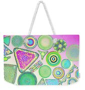 Lm Of Fossilized Diatoms Weekender Tote Bag