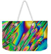 Lm Of Tartaric Acid Crystal Weekender Tote Bag