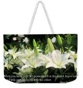 Loaf And Lilly Weekender Tote Bag